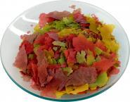 aquaristic.net Hauptfutter Zierfisch Flocken Colour 1 kg - 5,5 l Beutel