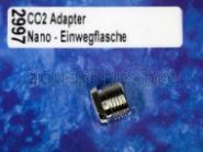 Dennerle Crystal-Line CO2-Adapter  Nano Druckminderer auf Einwegflasche