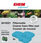 EHEIM Filter pads for professionel/eXperience (3 pcs.) 2222/2224, 2322/2324 and 2422/2424 [2616221]