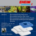 EHEIM Set of filter pads / filter fleece professional 3 2071/2073/2074/2075 (1+4 St.) [2616710]