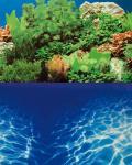 Hobby Folienrückwand Zuschnitt Pflanzen 8 / Marin Blue SB