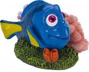 Aquariumdeko Figur - Dory mit Koralle