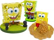 SpongeBob aquarium decoration figure