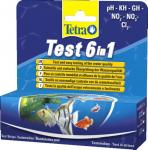 Tetra Test 6in1 teststripes - 25 pcs.