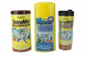 Tetramin 1 l + Tetra AquaSafe 500 ml + Coffe-to-Go Becher Gratis