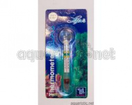 Swimmthermometer with suction nipple