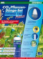 Dennerle CO2 Pflanzen-Dünge-Set Einweg 160 Primus Special Edition - CO2 Flasche - 500 g