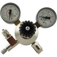 aquaristic.net CO2 Pressure reducer with 2 Manometer + dosage valve - reusable system