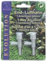 Evolution Precision Airhosetap 4/6 mm - 2 pcs pack