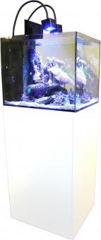 Aqua Medic Cubicus CF Qube Saltwater Aquarium System Complete white
