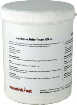 aquaristic.net Malawi flakes 180 g - 1000 ml can