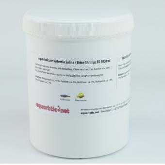 aquaristic.net Artemia Salina FD 80 g - 1000 ml Can