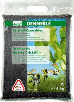 Dennerle Kristall-Quarzkies Schiefergrau