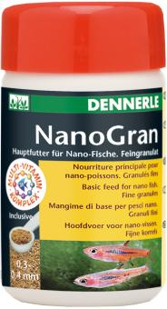 Dennerle Nano Gran - Hauptfutter fuer Nano-Fische