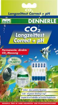 Dennerle Profi-Line CO2 Langzeittest Correct + pH