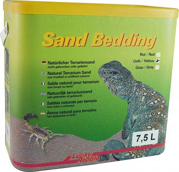 Lucky Reptile Sand Bedding gelb - 7,5 l