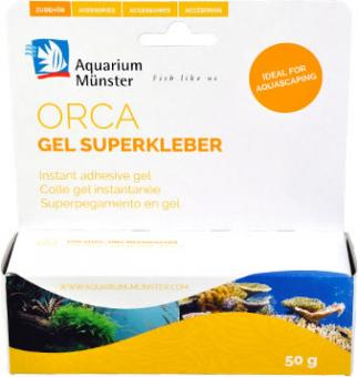 Aquarium Münster orca Gel Superkleber 50 g
