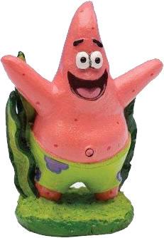 SpongeBob aquarium decoration figure - Patrick