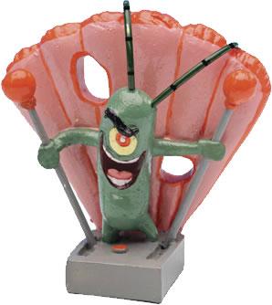 SpongeBob Aquariendeko Figur - Plankton