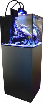 Aqua Medic Cubicus Qube CF Meerwasserkomplettaquarium graphite-black