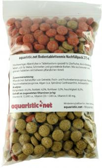 aquaristic.net GroundTablets MIX 170 g - 275 ml refill pack