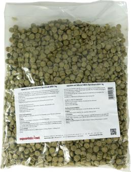 aquaristic.net AdhesiveTablets Clip & Break GREEN 1 kg bag