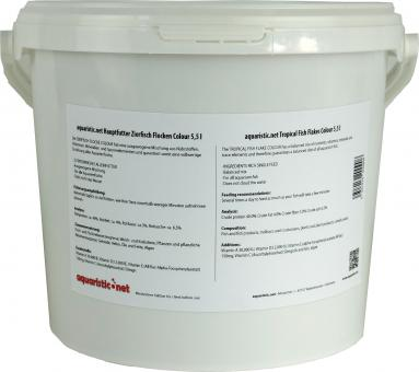 aquaristic.net basic food flakes 1 kg - 5,5 l Bucket