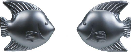 Aqua Medic fishknob door-knobs angel - pair