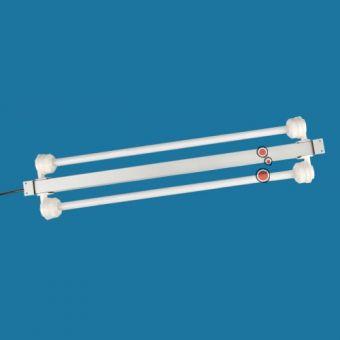 AquaLight T5 Leuchtbalken - automatisch gedimmt 2x 24 W, 63,5 cm