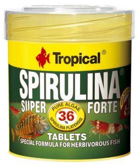 Tropical Super Spirulina Forte Tablets 36 % adhesive tablets 250 ml