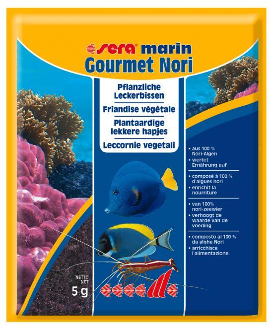 sera marin Gourmet Nori Algae Treats 5 g