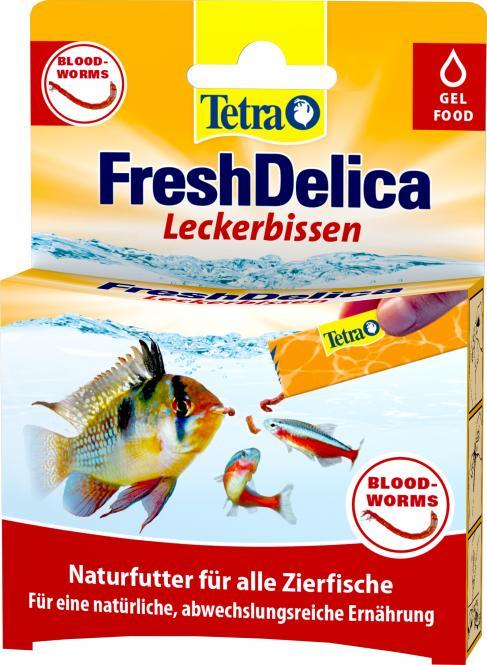 Tetra FreshDelica Bloodworms, 48 g
