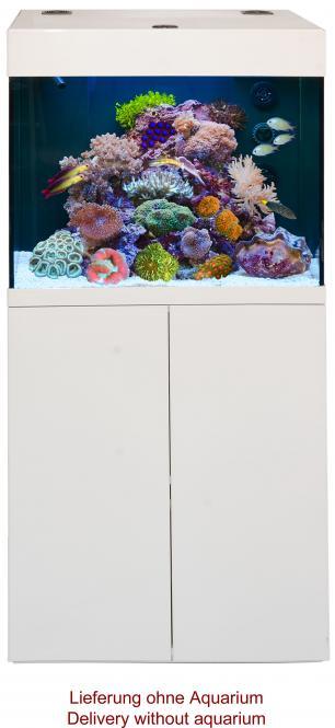 Aqua Medic Kauderni LED Meerwasser Aquarium Kombination weiß