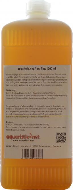 aquaristic.net Flora Plus 1000 ml