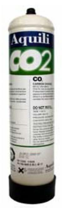 Aquili CO2 disposable bottle 500 g