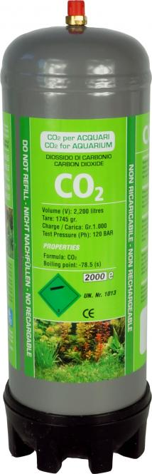 aquaristic.net CO2 disposable bottle - DENNERLE System - replaces 2x Dennerle 3013