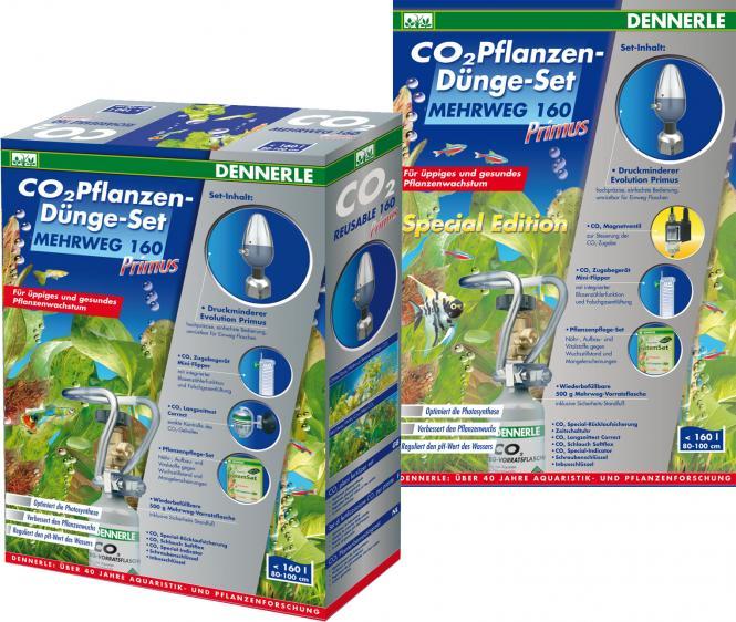 Dennerle CO2 reusable fertilization set 160 Primus