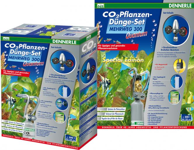 Dennerle CO2 reusable fertilization set 300 Quantum