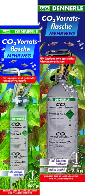 Dennerle reusable CO2 cylinder