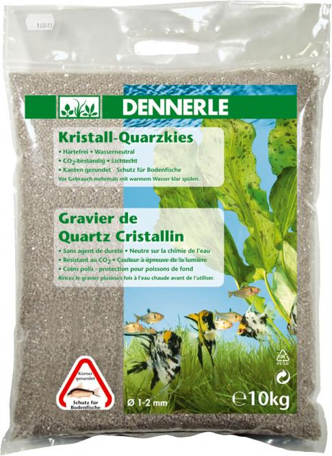 Dennerle crystal quarz gravel Natural white 10 kg