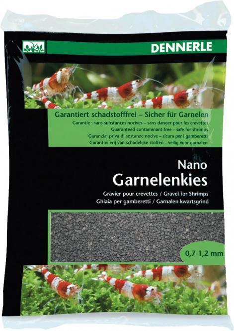 Dennerle Nano Garnelenkies sulawesi schwarz - 2 kg