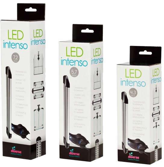 Diversa LED intenso Aquarium LED Leuchte
