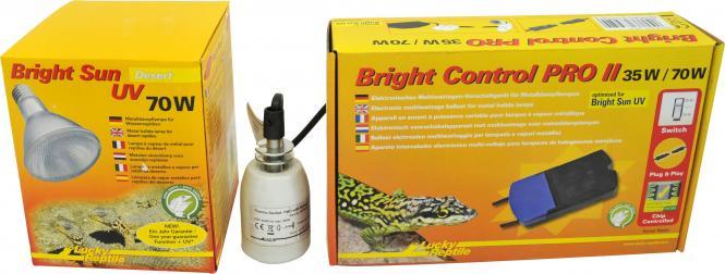 Lucky Reptile Bright Sun UV Desert Complete Set 70 W