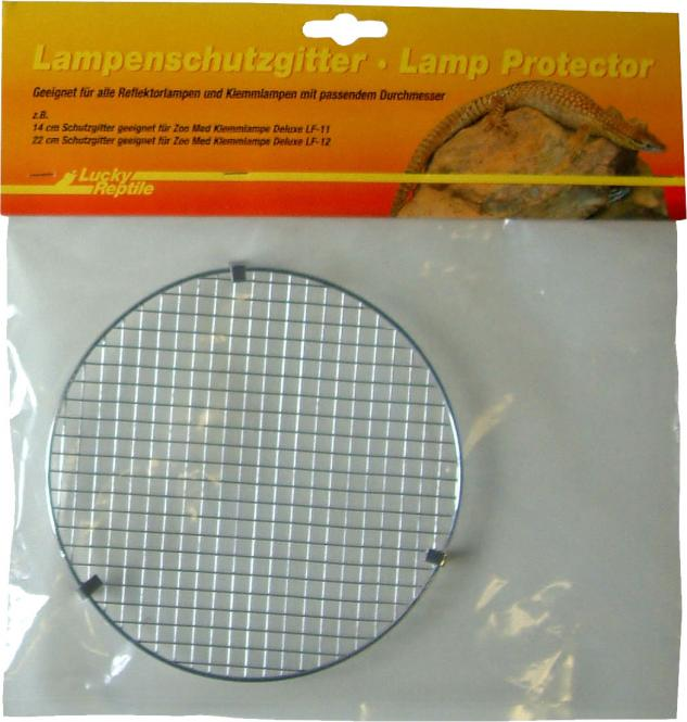 Lucky Reptile Wiremesh Protector for Clamp Lamps