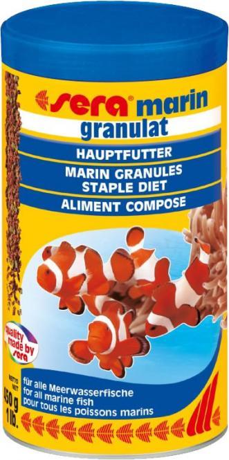 sera marin granules 250 ml