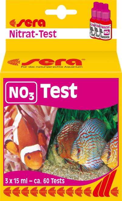 Sera Nitrate NO3 - Test