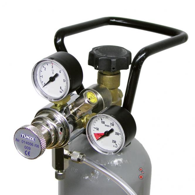 TUNZE pressure reducer for CO2 7077/3