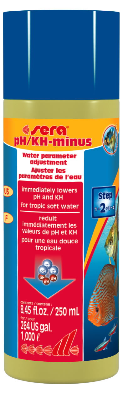 sera pH/KH-minus 250 ml