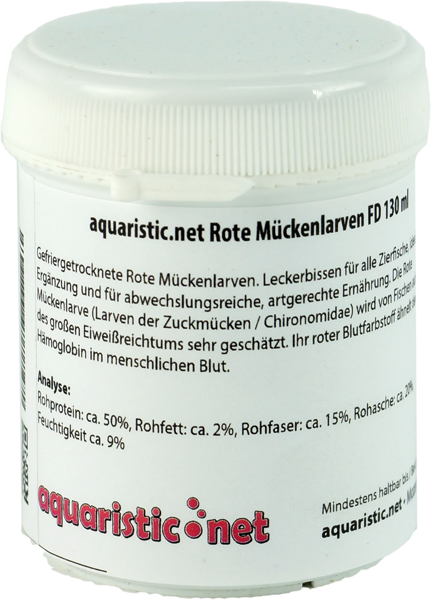 aquaristic.net Rote M�ckenlarven FD