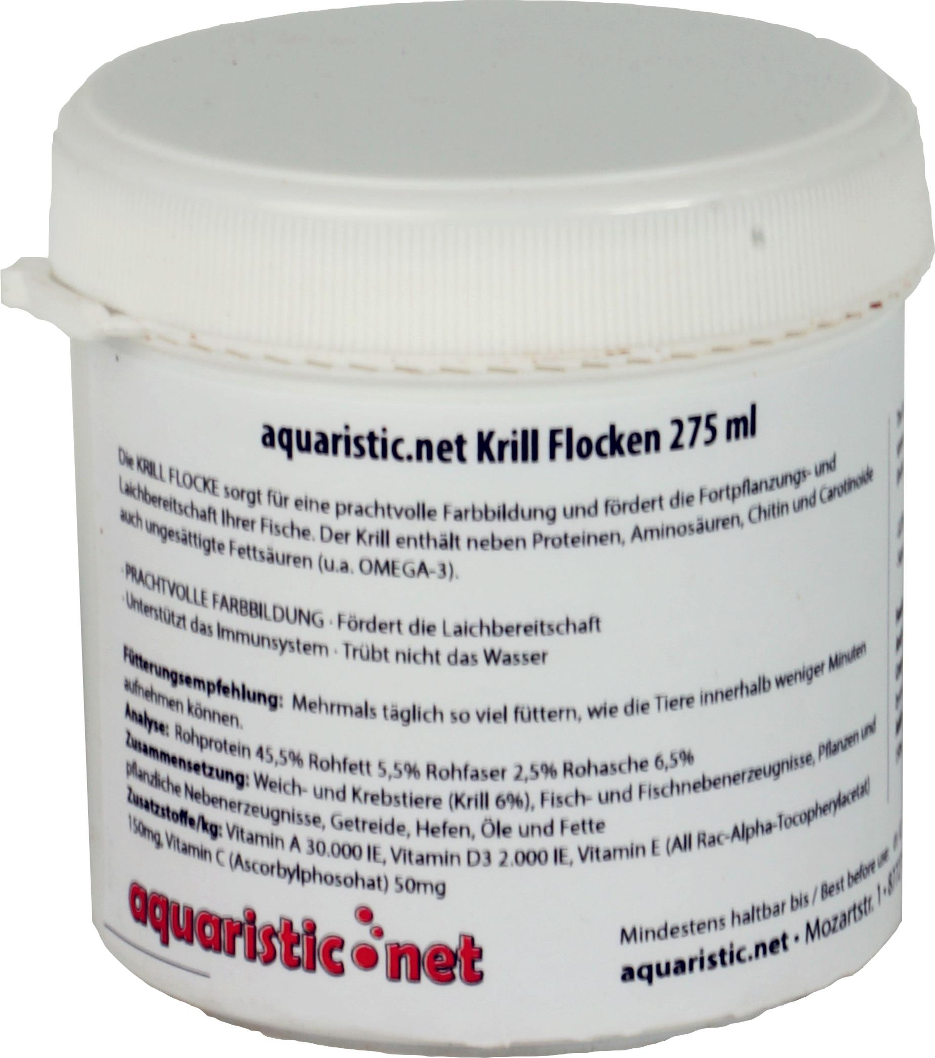aquaristic.net Krill Flocken